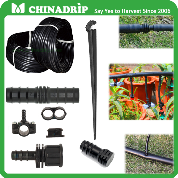 1/2 inch 500 ft Poly Drip Tubing Irrigation Sprinkler System Water Line Pipe