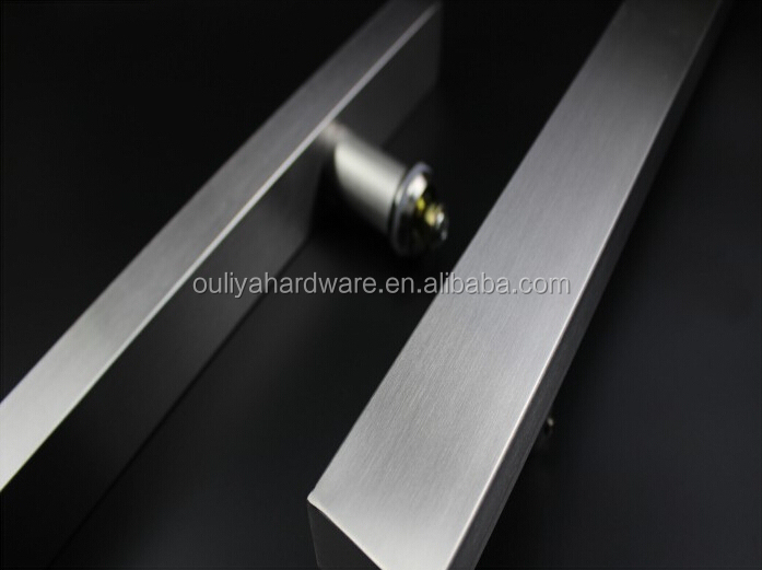 Stainless Steel Double Sided Door Pull Handle For Entrance Door ...