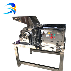 Tea leaf crushing machine