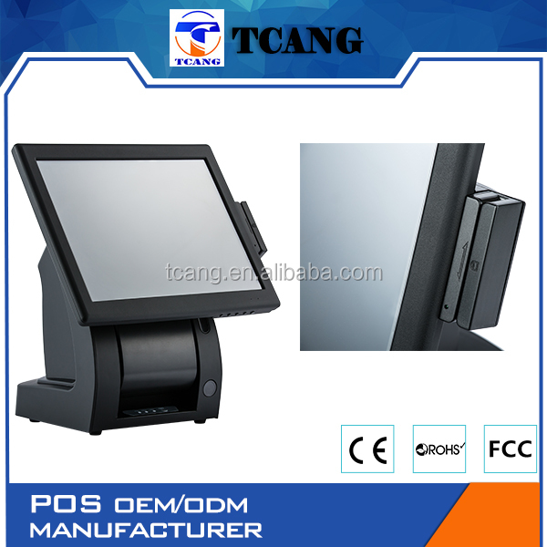 Tuocang TC-i7 Windows pos / touch screen cash register / android pos software