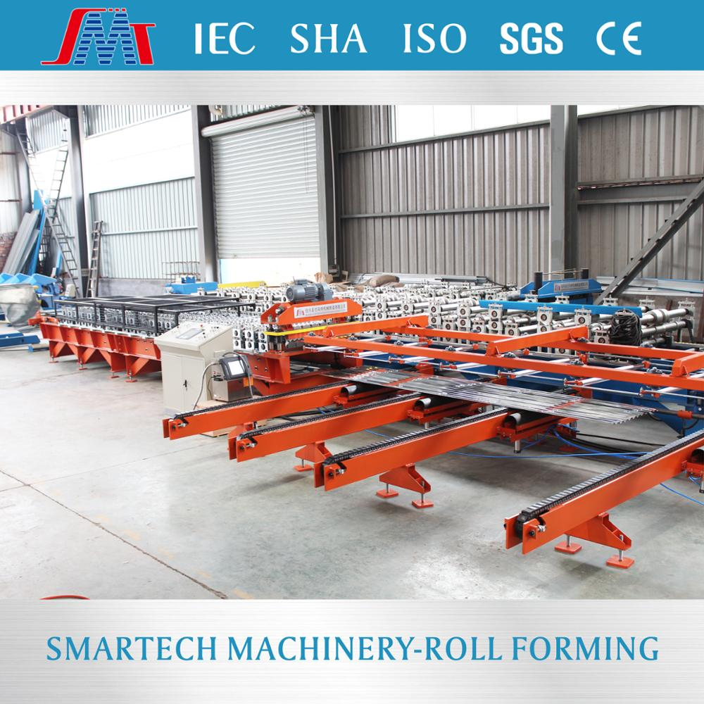 YQF76 curving roof forming machine corrugated cold roll forming machine from Shaoxing Smartech