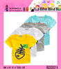 2015 Summer Holiday Best selling Fishbone Cotton Kids Led T-shirts
