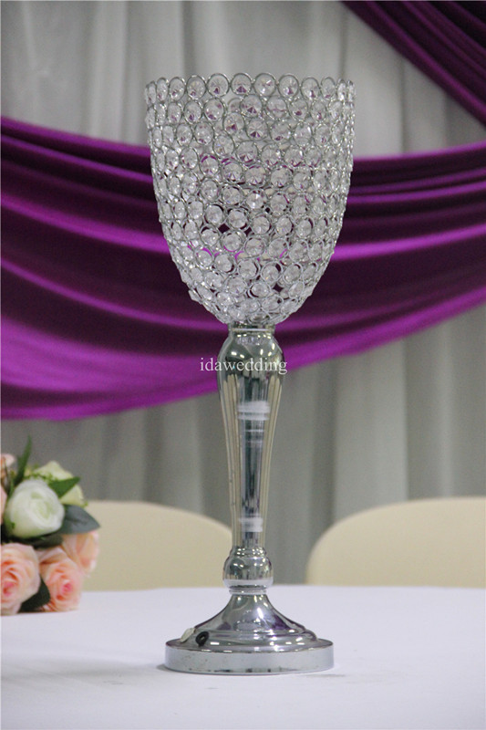 Ida Crystal Light Decoration Pieces Of Table Wedding Centerpiece ...