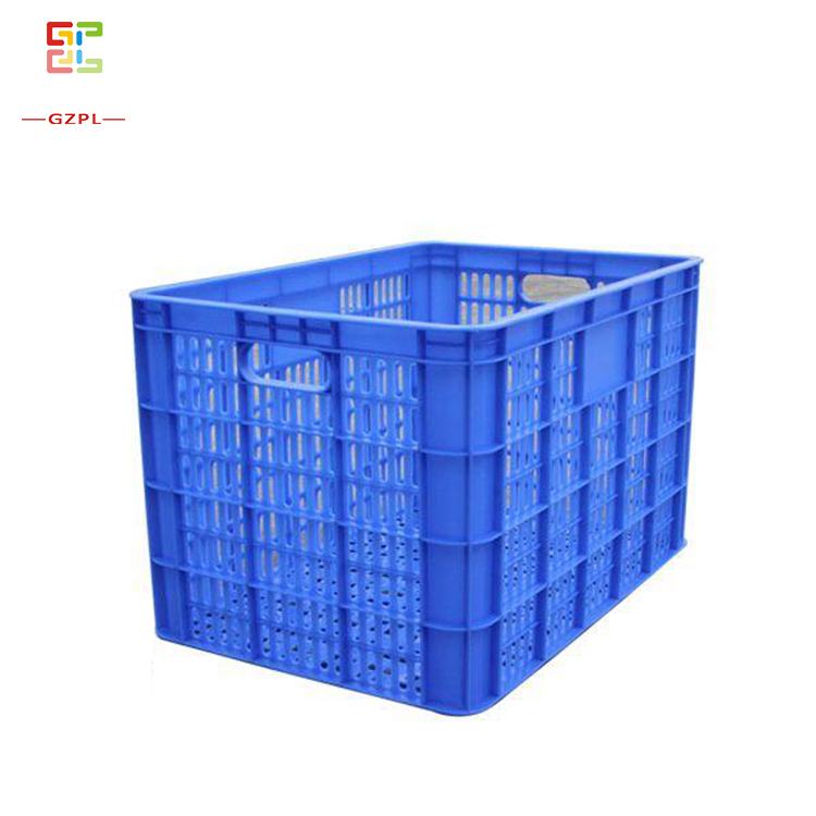 PP Transparent Collapsible Plastic Solid Foldable Crate Turnover Box