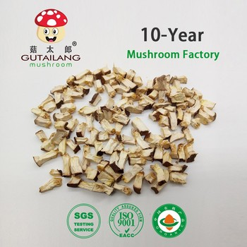 Dried chopped shiitake mushroom cube 5*5mm