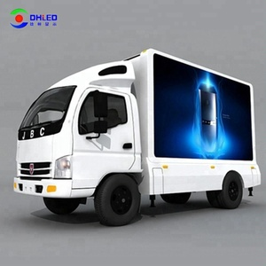 Waterproof Full Color Mobile Video Screen Car LED Display Truck LED Signs For Advertising