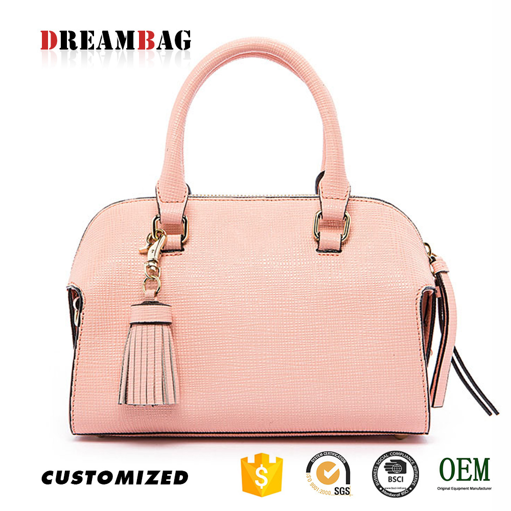 Cross pattern with tassel Dreambag OEM ds handbags
