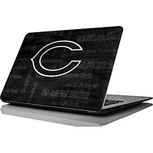 NFL Chicago Bears MacBook Air 11.6 (2010/2013) Skin - Chicago Bears Black & White Vinyl Decal Skin For Your MacBook Air 11.6 (2010/2013)