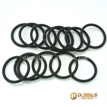 Soft Flat Various Diameter Silicone Epdm Viton Nbr Rubber Seals ...