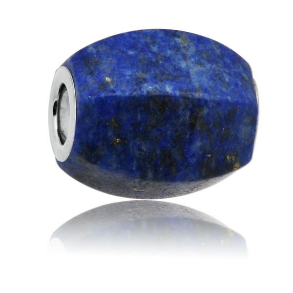 Bead Supplier Oval Faceted Gemstone Bead in Blue
