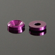 Purple Color Anodized Aluminum Alloy Countersunk Washer
