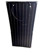 12V 18V 24V Top Quality ETFE Tech High Efficiency Semi Flexible Solar Panel 80W 100W