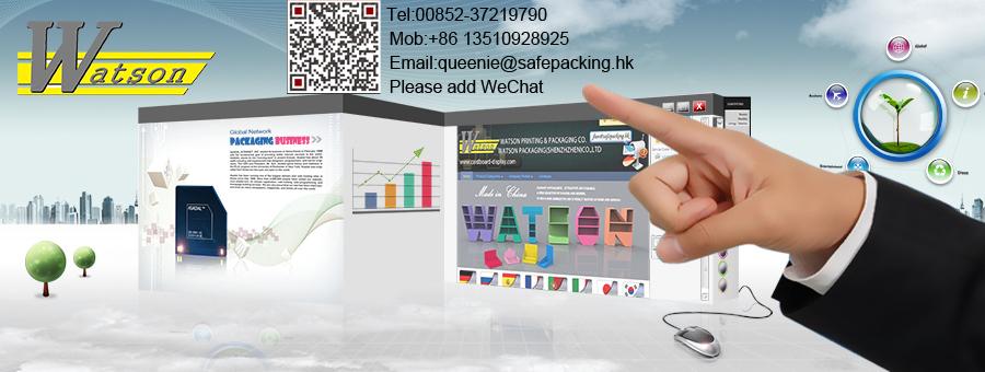 Personalizado cartón reciclable estante de exhibición con ganchos