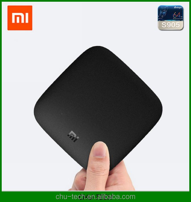Original XIAOMI <strong>TV</strong> <strong>BOX</strong> 3 Andriod5.0 Media Player <strong>Amlogic</strong> S905 2.0GHz 1G/4G 64Bit eMMC5.0 4K 3840 X 2160 Quad Core