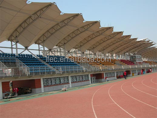 galvanization light steel structure stadium bleachers