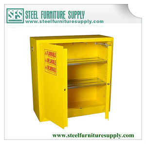 Lab flammable/hazardous storage cabinet