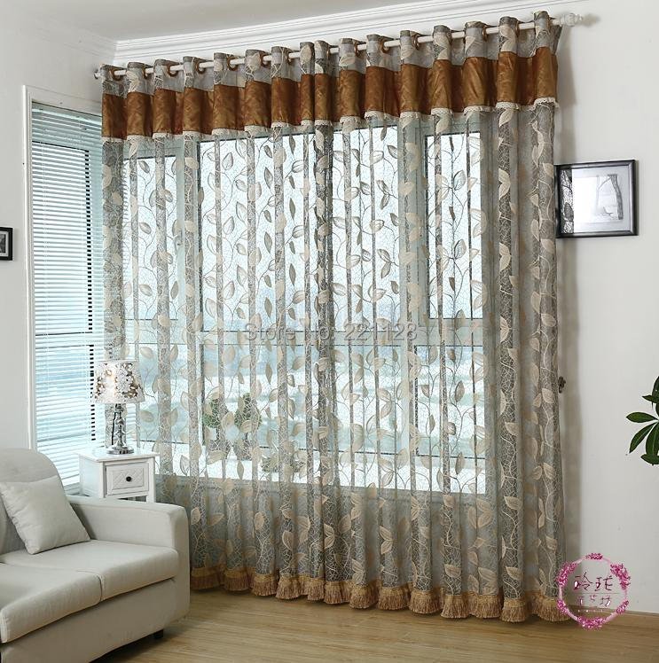 Quantity-Sheer-Panel-Voile-Curtain-with-Valance-Tulle
