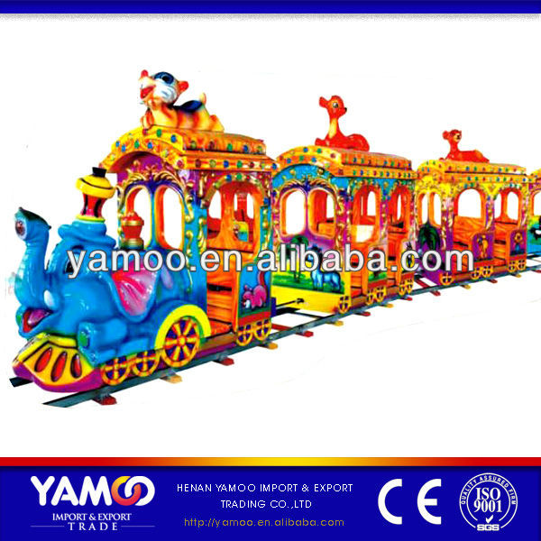 Cartoon Amusement Park Toy Train for Sale/Outdoor Rides on Cartoon Toy Trains for Kids