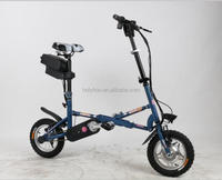 new model 14inch mini folding electric bicycle /ebike/electric bike E-SS071