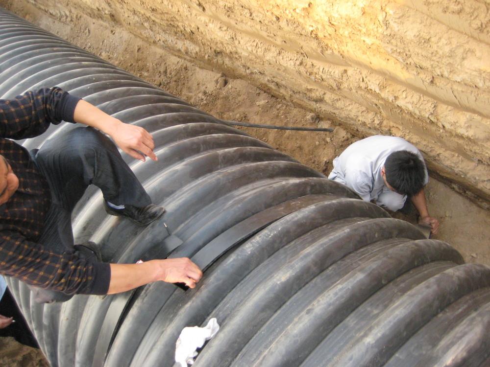 Heat Shrinkable Sleeve For Steel Reinforced Hdpe Double Plain Wall ...