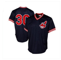 Cleveland Indians Joe Carter Mitchell & Ness Authentic Cooperstown Baseball Jersey