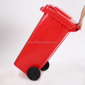 120L Liter Hospital Large Wheelie and Pedal Industrial 4 wheels 240l Street Plastic Outdoor Trash Bin