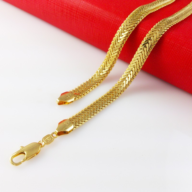 Cheap gold necklace for women 24k find gold necklace for women 24k get quotations super deal 2015 new arrival fashion jewelry vacuum plating 24k gold pendant necklace top quality snake aloadofball Choice Image