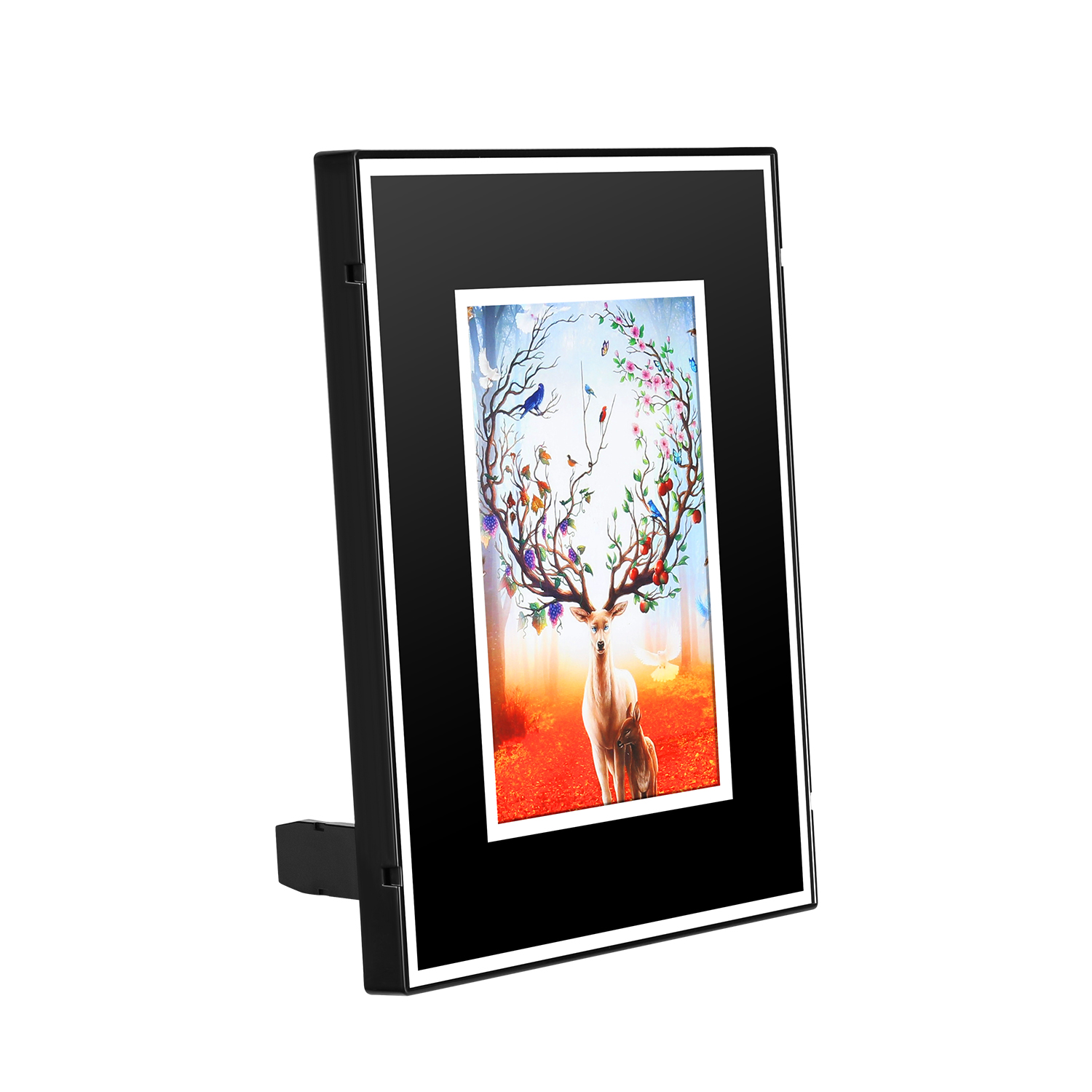 QZT 2019 new design 1080 p wifi photo frame spy 카메라