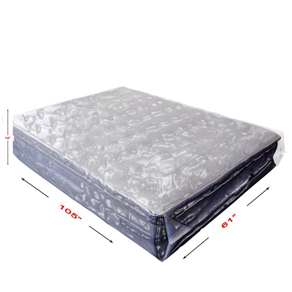Get Quotations · BasiX365 4 Pack Commercial Grade Mattress Bag For Moving,  Storage, Bed Bugs Control,