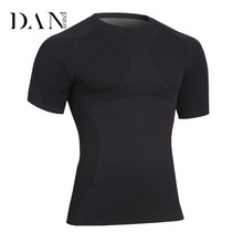Wholesale Mens Jogging Sport Wear Slim Fit Workout White Tee Shirt
