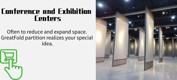 Free CAD Collapsible Aluminum Frame Movable Partition Walls For Conference Center