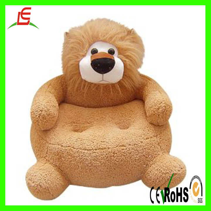 High Quality LE C1631 Kids Sofa Furniture , Plush Child Animal Chair