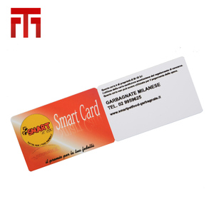 cheap pvc smart id rfid greeting identification magnetic card chip for reader