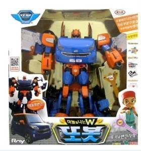new TOBOT Flying W Transforming Robot Transformers Toy Car Kia Ray Model