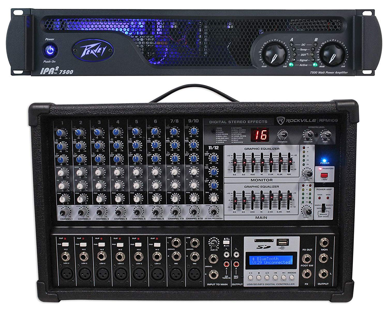 This Picture Is A Preview Of Yamaha P2200 Powerampstage Sch