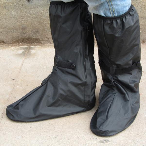 fc1d1ce26d6 Couvre-chaussures imperméables pluie couvre-bottes moto housse de pluie (8  boucles)