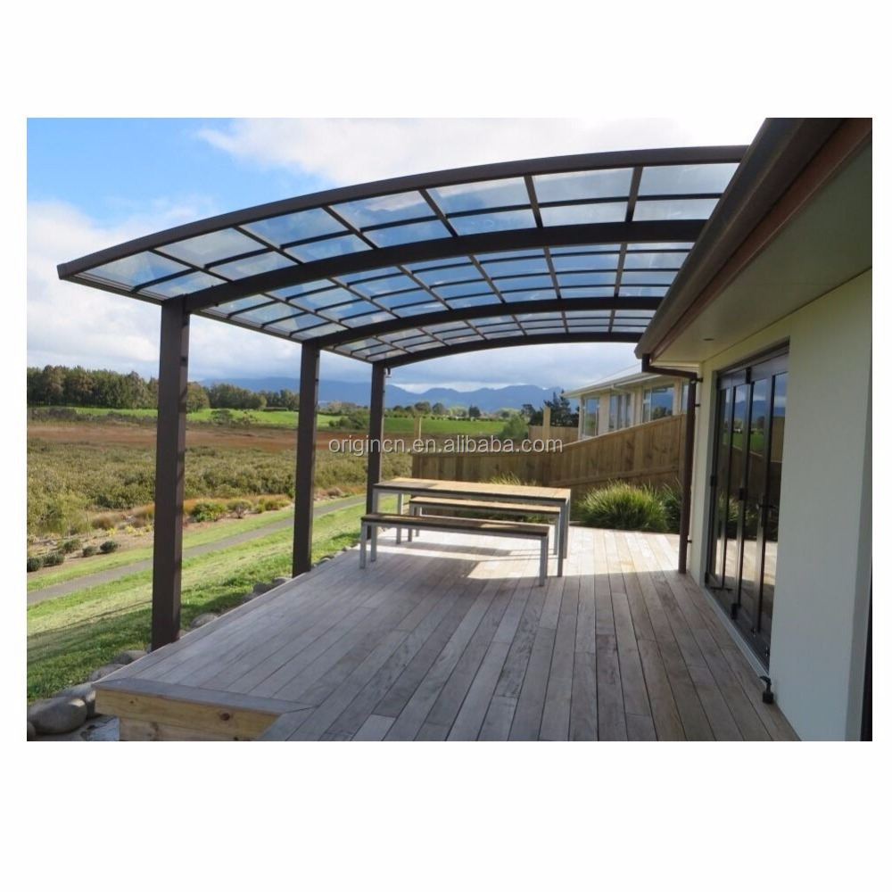 Aluminum alloy good quality beautiful aluminum carport outdoor canopy car shelter