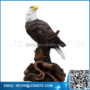 < Custom Accept> Ceramic or Resin Bald eagle Figure, Polyresin Bald eagle figurine, Bald eagle Statue