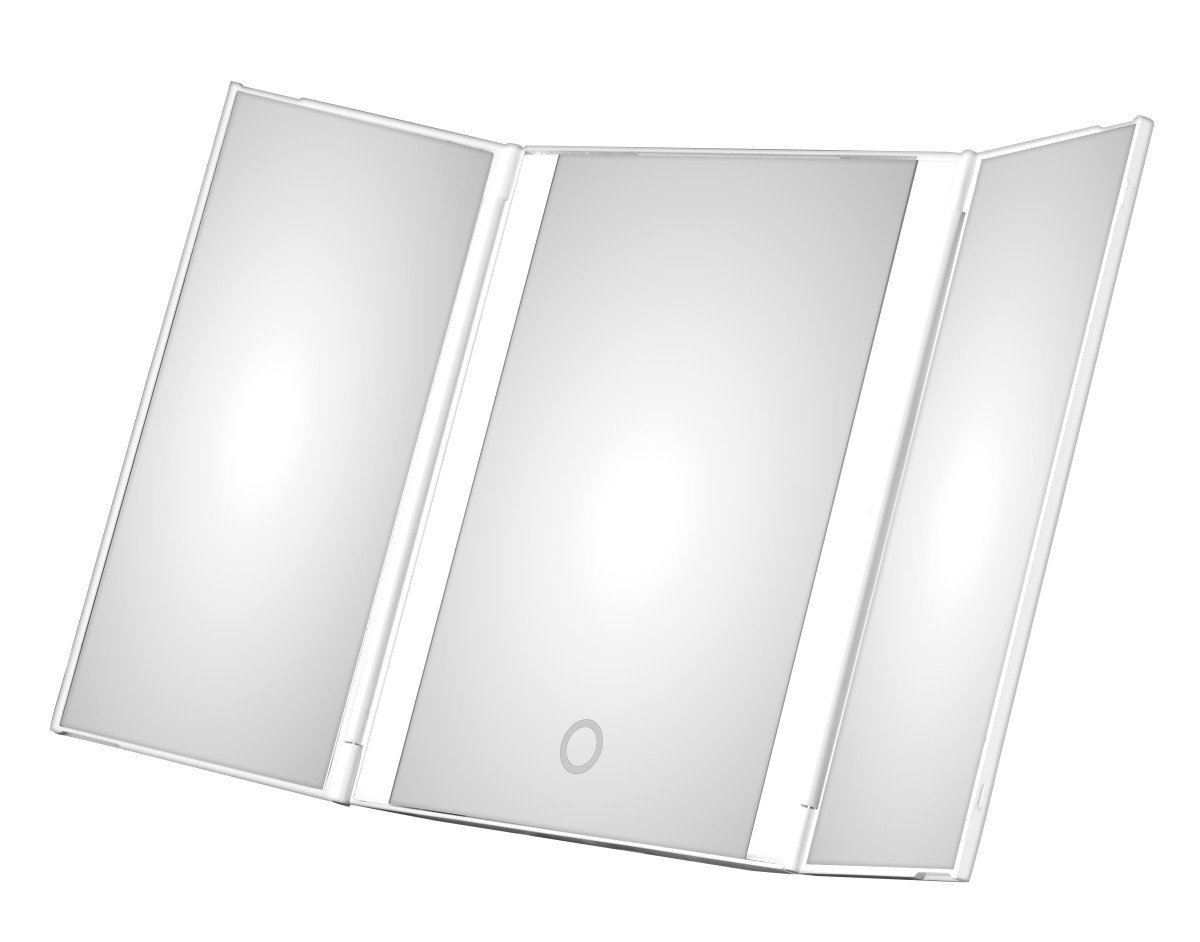 Cheap Tri Fold Lighted Makeup Mirror Find Tri Fold Lighted Makeup