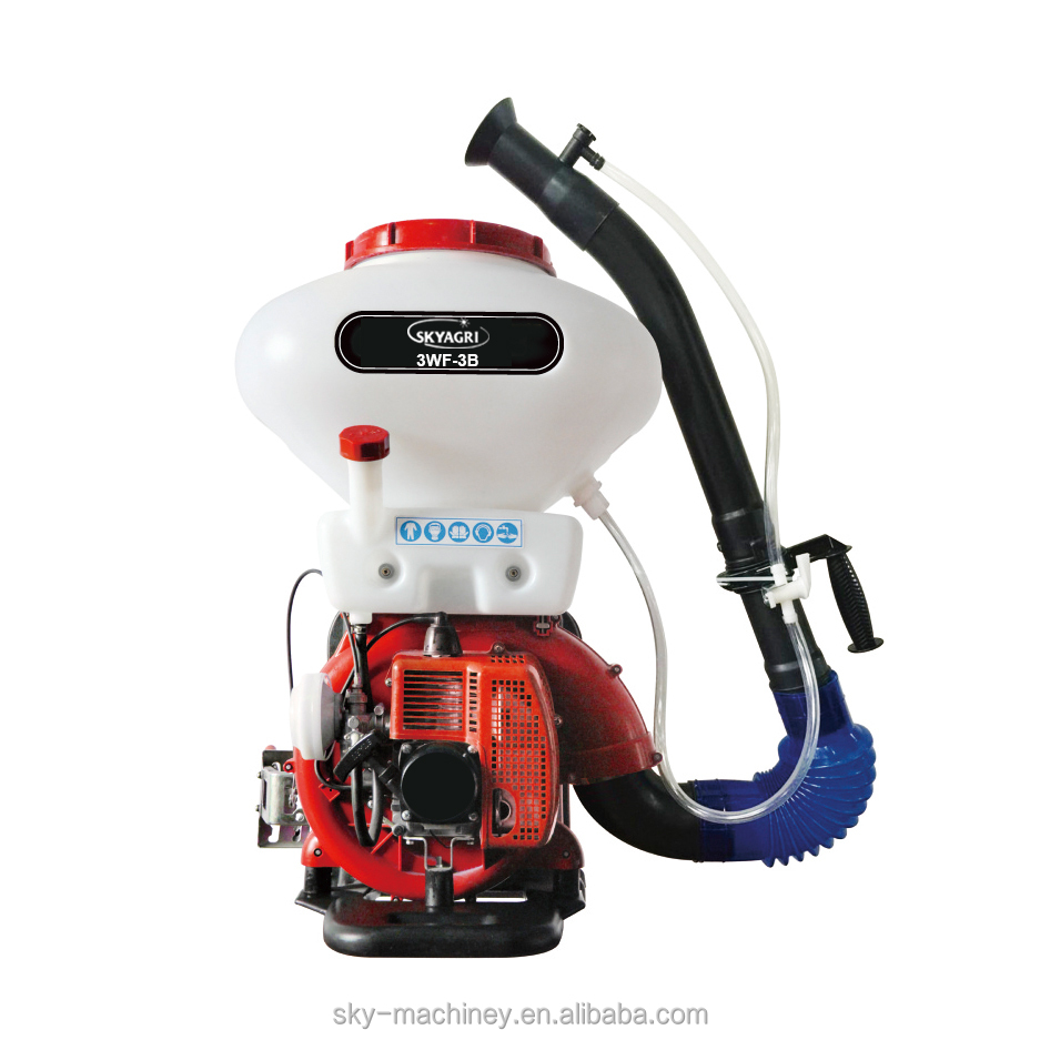 metal backpack chemical sprayers power mist/duster 3WF-3B
