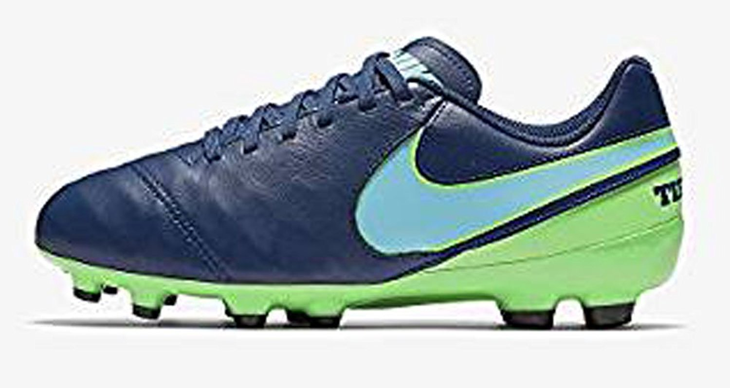 7b12edccb91 Get Quotations · Nike Youth Tiempo Legend VI Firm Ground Cleats