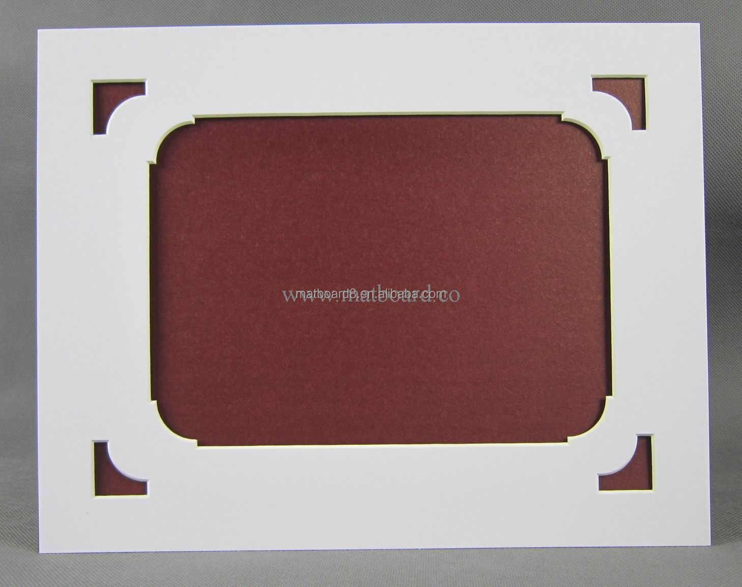 Custom Wholesale Ready Cut Mat / Mounting Board