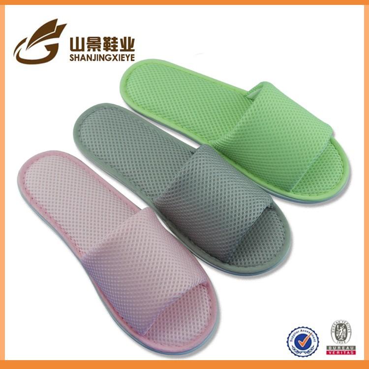 latest fancy fabric sole slipper wholesale women slipper