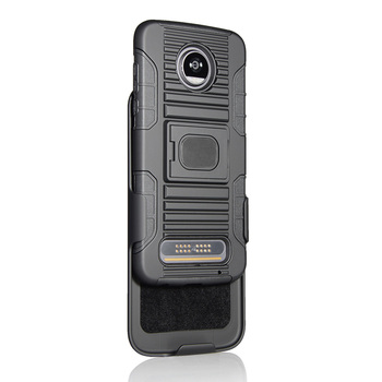 detailed look 3c2b1 4579d Latest Design Armor Style Case For Moto Z Force Z2 Play With Kickstand  Robot Holster - Buy Robot Case Holster,Armor Style Case For Moto Z2 Force  Z2 ...