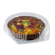 plastic clear clamshell cake box PET transparent Plastic cake box for packaging