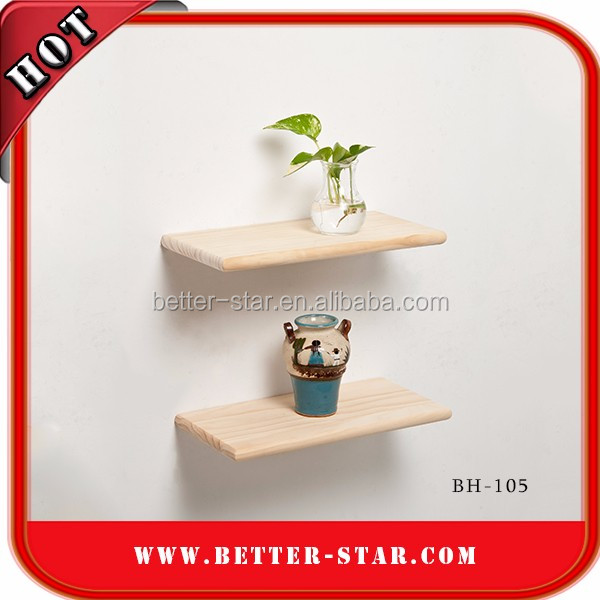 Hidden bracket wall shelf with cheap price