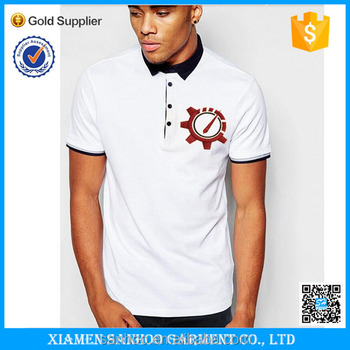 Wholesale Mens 100 Cotton Polo Shirts With Customized Logo Embroidery Or Printing
