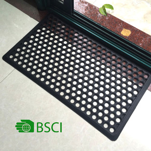 Outdoor Holes Rubber Mats with BSCI