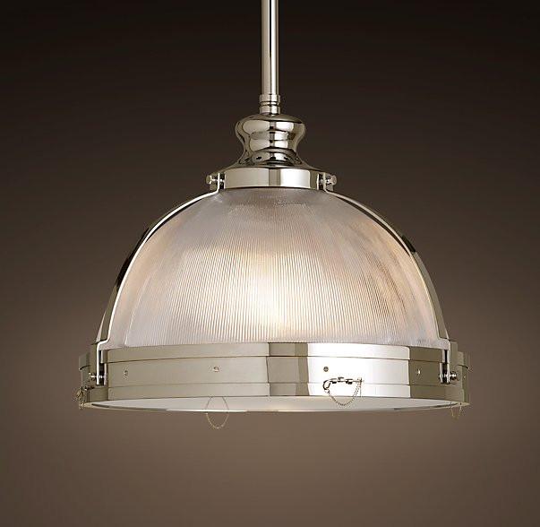 Restoration Hardware Warranty: New Clemson Prismatic Single Glass Pendant Light For Hotel