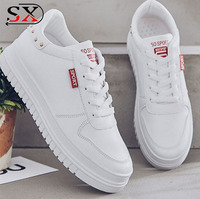 Casual white shoes fashionable women sports shoes breathable women sneakers